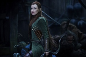 Tauriel played by Evangeline Lilly was created to add female presence but falls short. Photo credit: Mark Pokorny, Warner Bros. Entertainment Inc. and Metro Goldwyn-Mayer Pictures Inc.