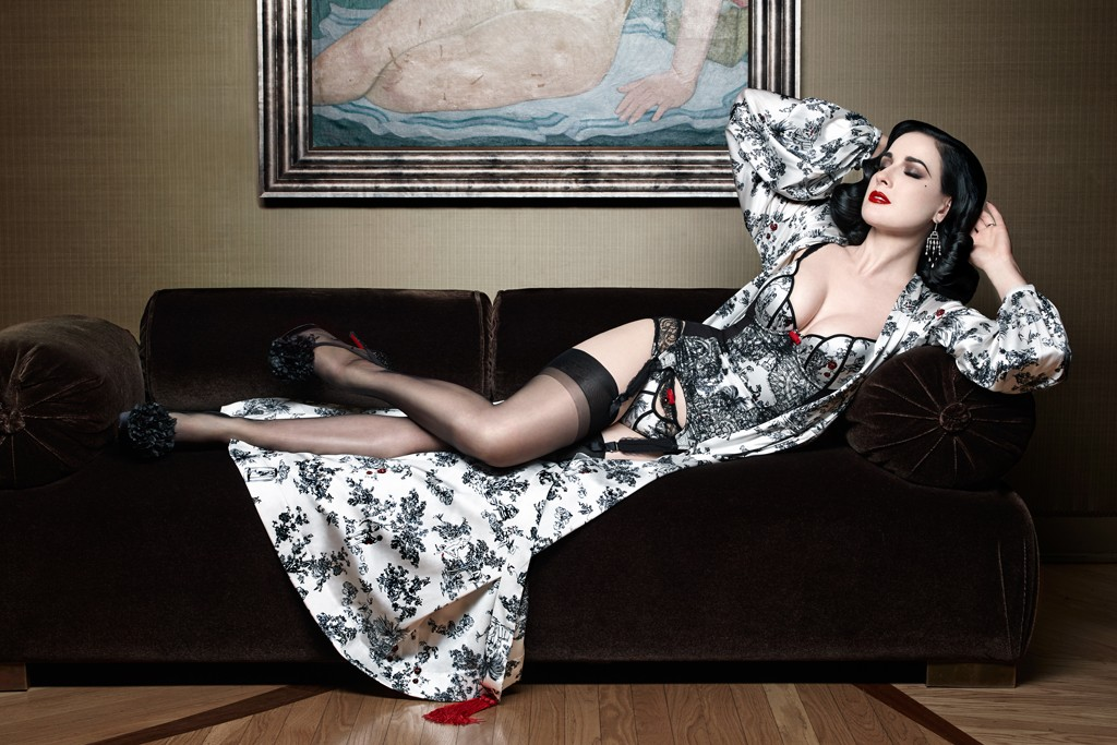 43770519c1e Christian Louboutin and Dita Von Teese Team up for New Lingerie Line ...