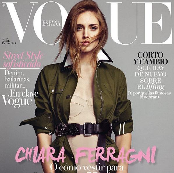 Chiara Ferrgani. Photo Credit: Vogue Spain.