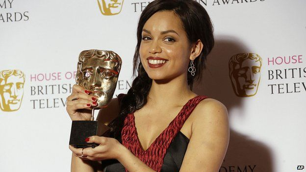 Georgina Campbell is BAFTA TV 2015's Leading Actress. Photo Credit: AP Images.