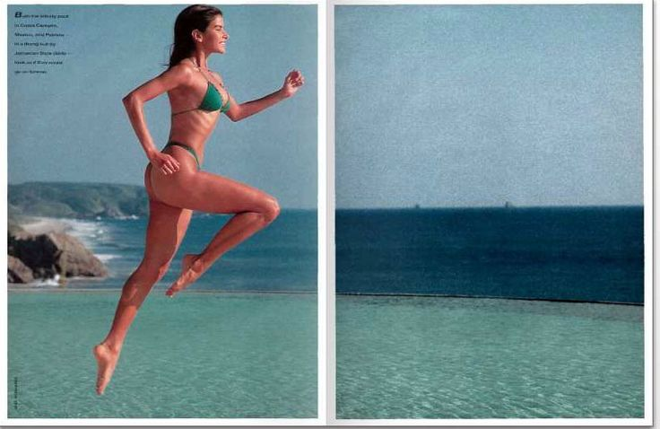 The Venezuelan vixen in a 1994 Sports Illustrated spread. Photo Credit:  imgsgroup.com