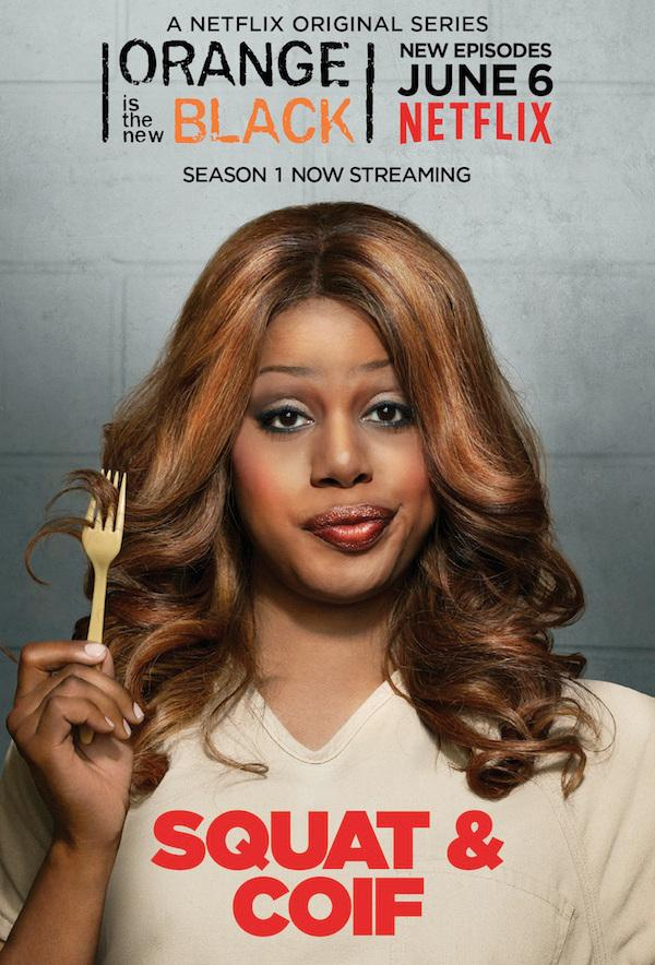 Sofia Burset as played by Laverne Cox on Orange is the New Black Photo Credit: Netflix