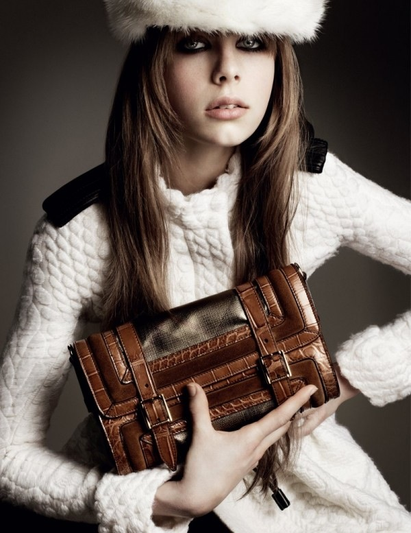 Edie Campbell- Burberry