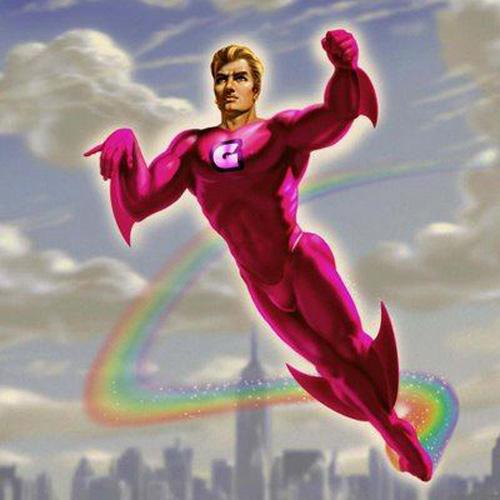 Super heroes gay