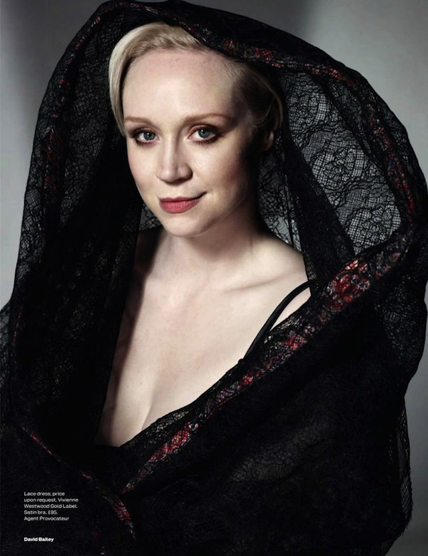Gwendoline Christie- David Bailey