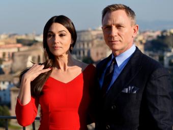Monica Bellucci and Daniel Craig. Photo Credit: Movies.com