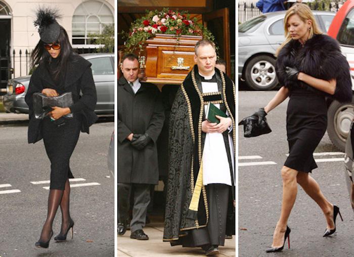 mcqueen funeral