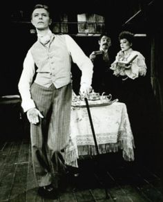 Bowie in The Elephant Man. Photo Credit: Pinterest