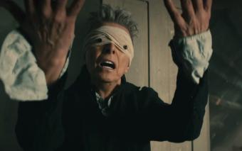 Music video still from Blackstar