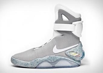 WATCH: Michael J Fox tries on a pair as Nike announce