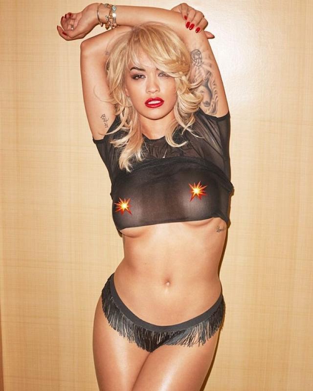 Rita Ora Poses Topless for Lui Magazine – FIB Jared Leto Instagram
