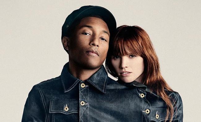 Pharrell Williams Co-Owner of G-Star