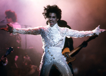 Prince at the Fabulous Forum.