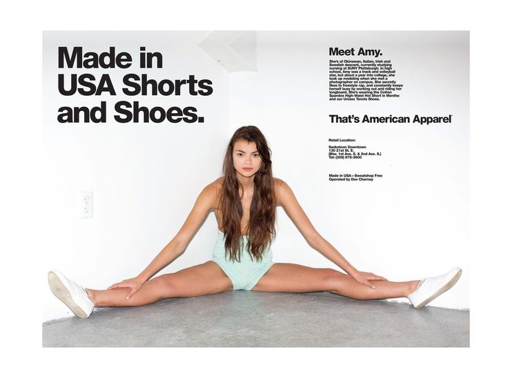 American Apparel Made In Campaign