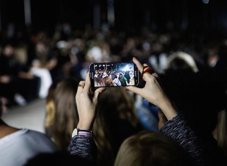 Social Media photos taken at Mercedes-Benz Fashion Week Australia 2015. Photo Credit: Janine Meyer.