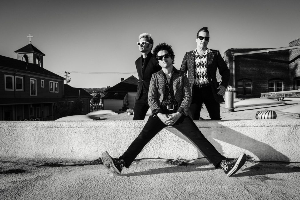 Green Day have revitalised their classic punk sound with their new album Revolution Radio. Source: Frank Maddocks