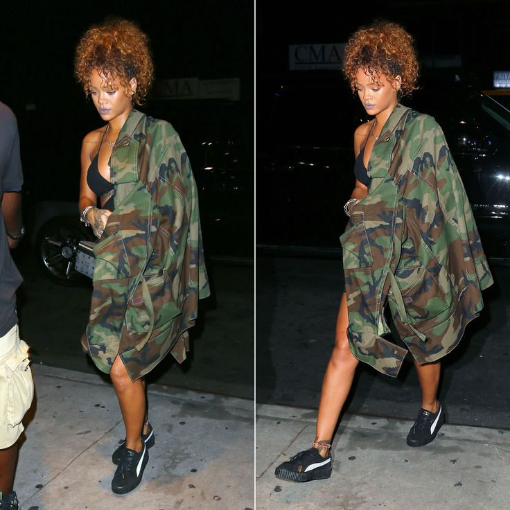 Rihanna in The Creepers. Image courtesy of pinterest.com