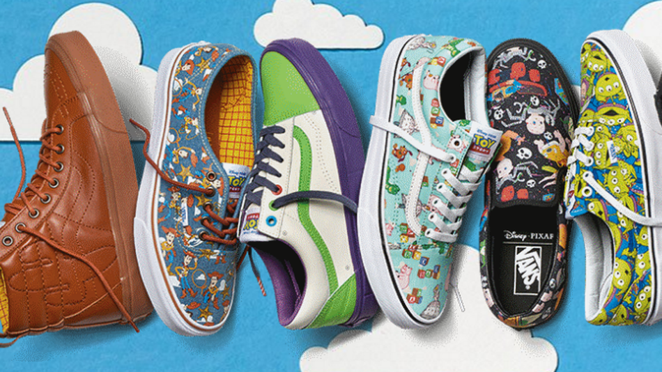 image courtesy of mashable.com; the Toy Story for Vans capsule collection