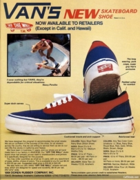 image courtesy of pinterest.com; a vintage ad for the brand