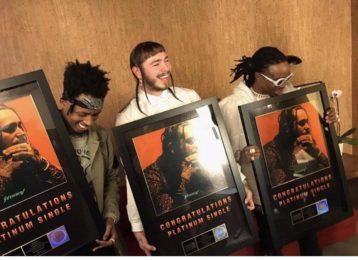 Post Malone Releases New Homage Track 'Rockstar' | FIB