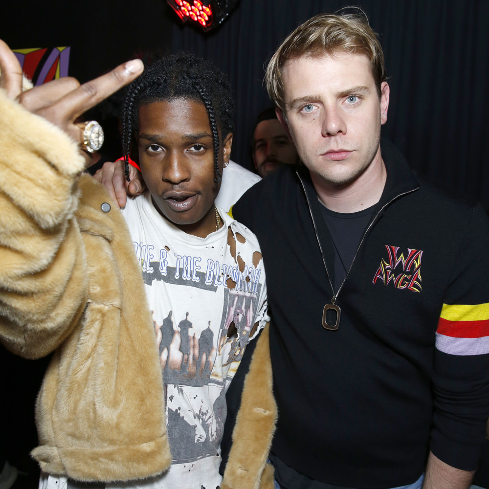 A$AP Rocky with J W Anderson