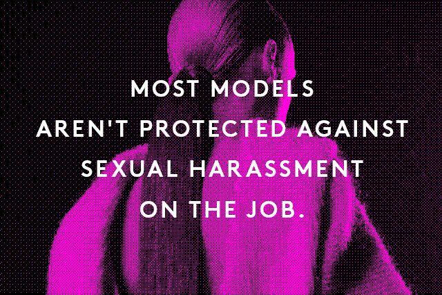 Models sexual harassment
