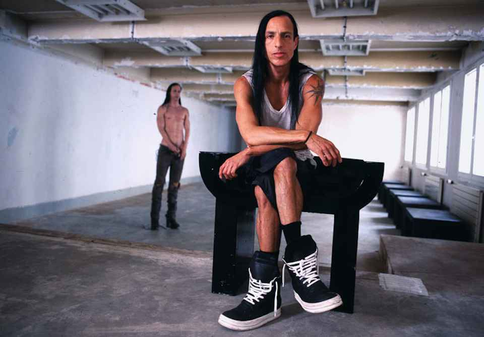 Rick Owens for Pin-Up Magazine