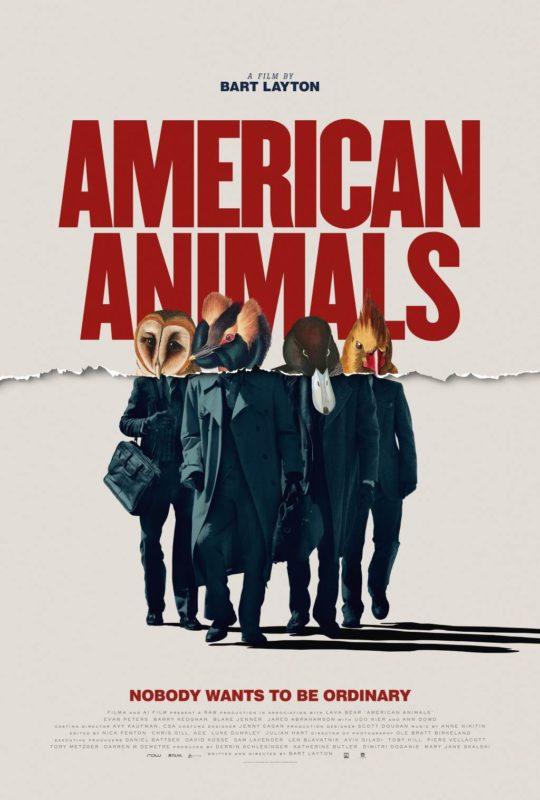 American Animals, Oscars, Thriller, FIB, Sydney Film Festival