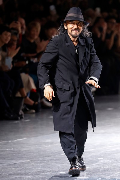 Yohji Yamamoto Presents Eclectic Graphic Tailoring For