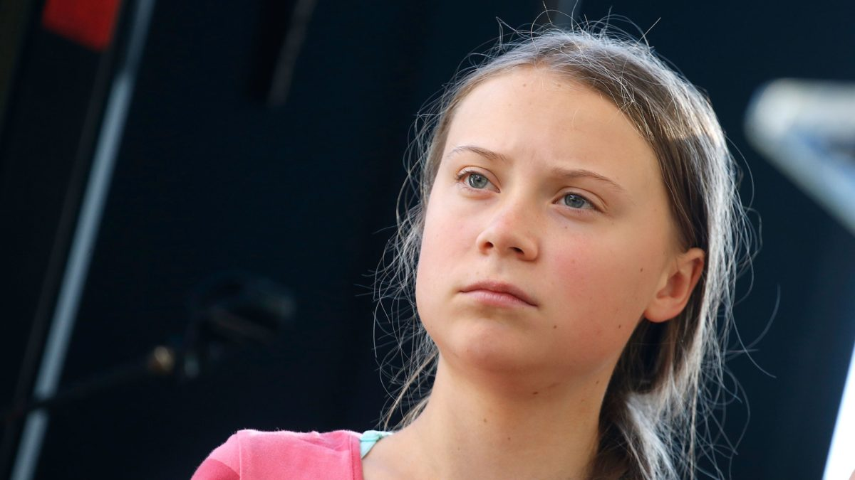 Image result for Greta Thunberg at the United Nations Climate Action Summit