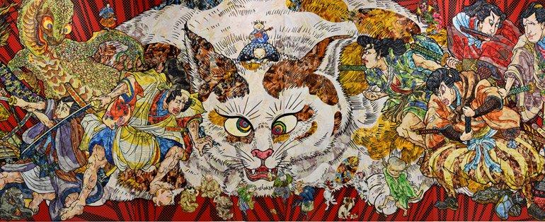 Japan Supernatural Ghosts Demons At The Art Gallery Of Nsw Fib
