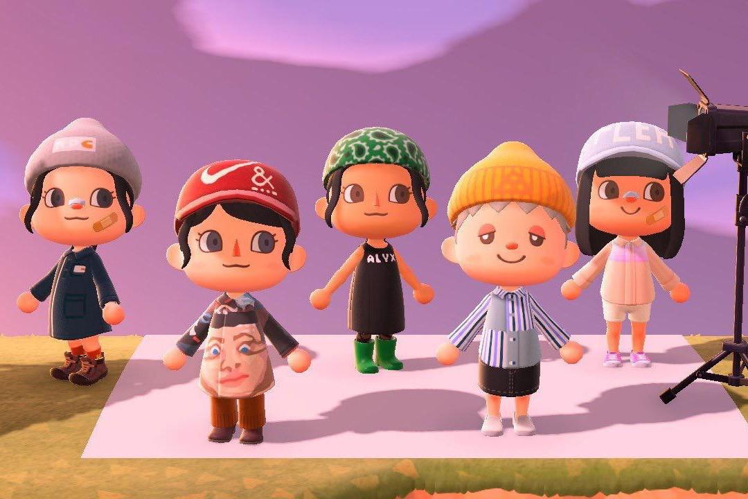 Nintendo - Boys Nintendo Animal Crossing Panels T-Shirt