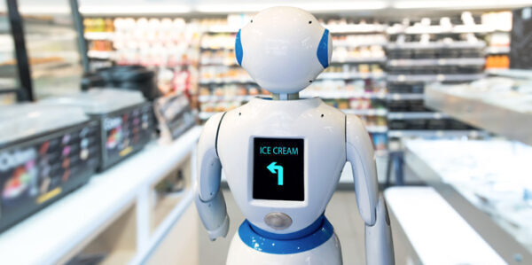 AI in a supermarket. Photo credit: Getty Images.