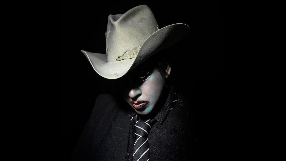 Marilyn Manson's 2020 cowboy persona. Photo credit: Perou | Marilyn Manson.