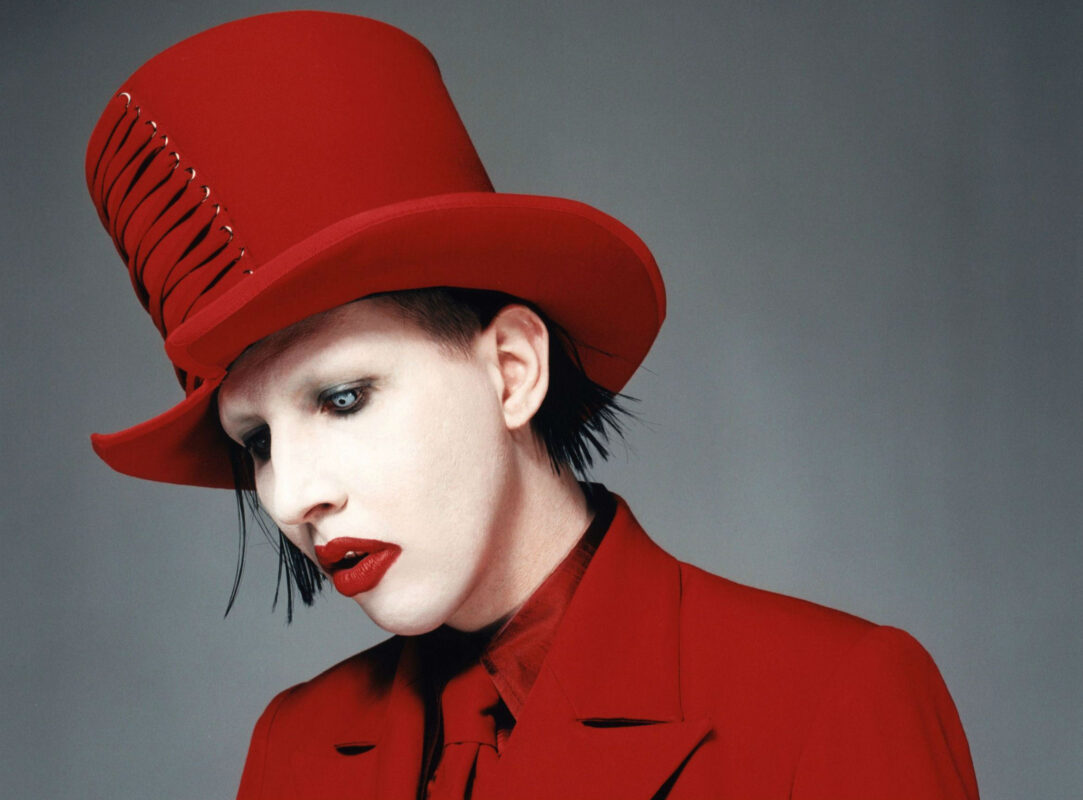 Marilyn Manson and his burlesque inspired style. Photo credit: Marilyn Manson.
