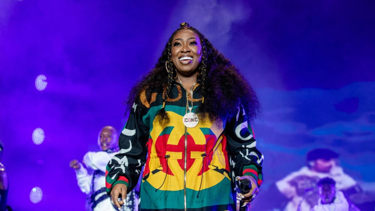 Missy Elliott performing at the 2018 Essence Music Festival. Photo credit: Getty Images